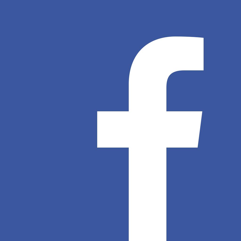 "Facebook's ""f"" logo."