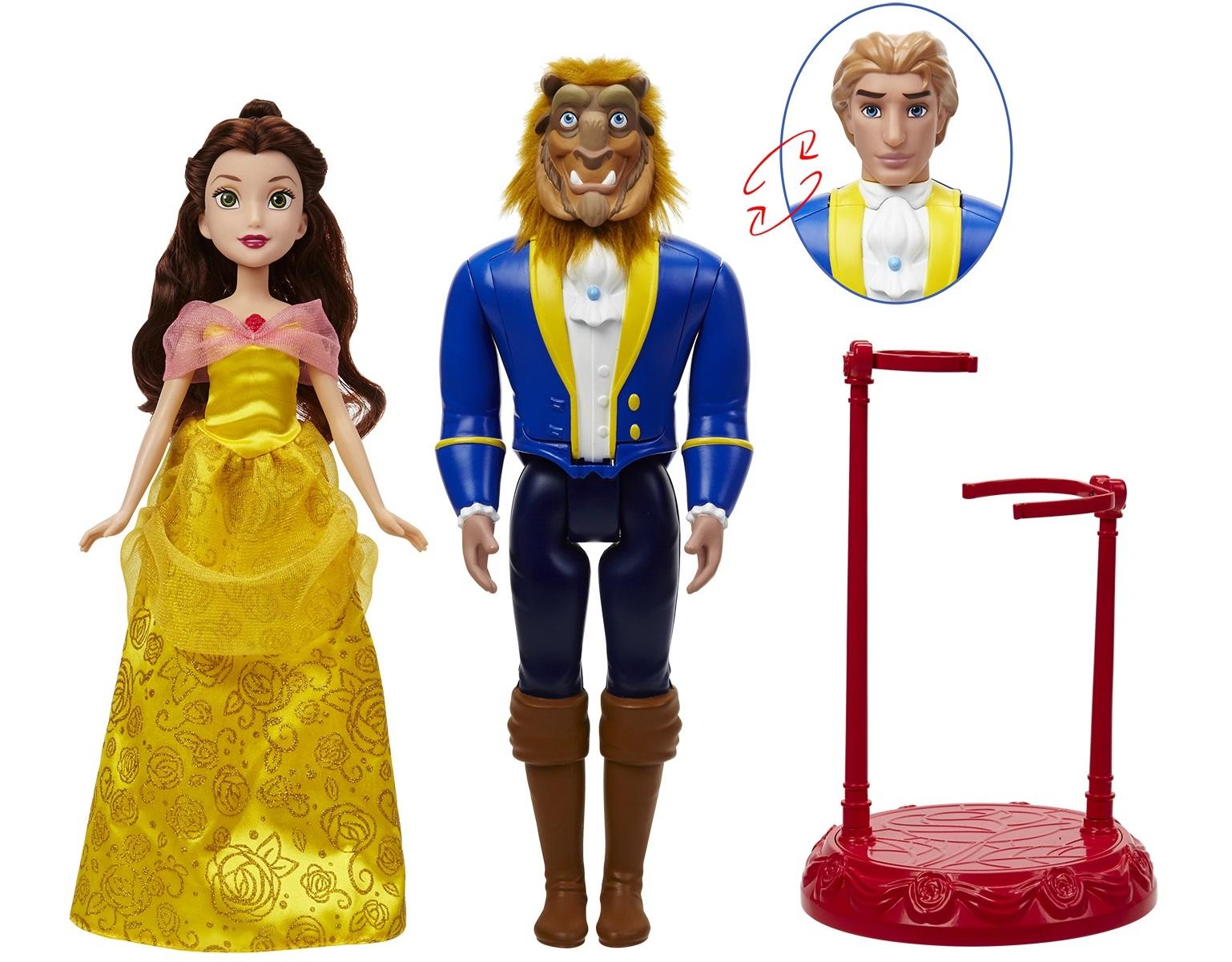 Hasbro's Beauty and the Beast dolls