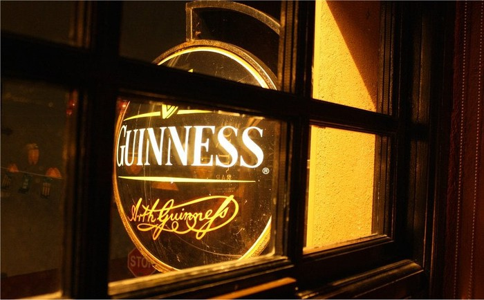 Diageo's iconic Guinness brand.