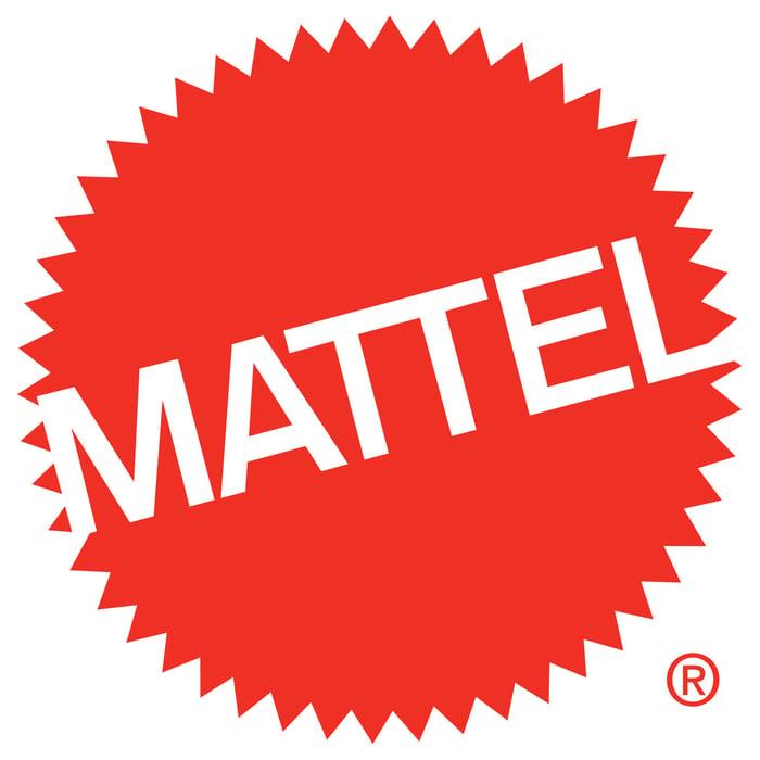Mattel logo.