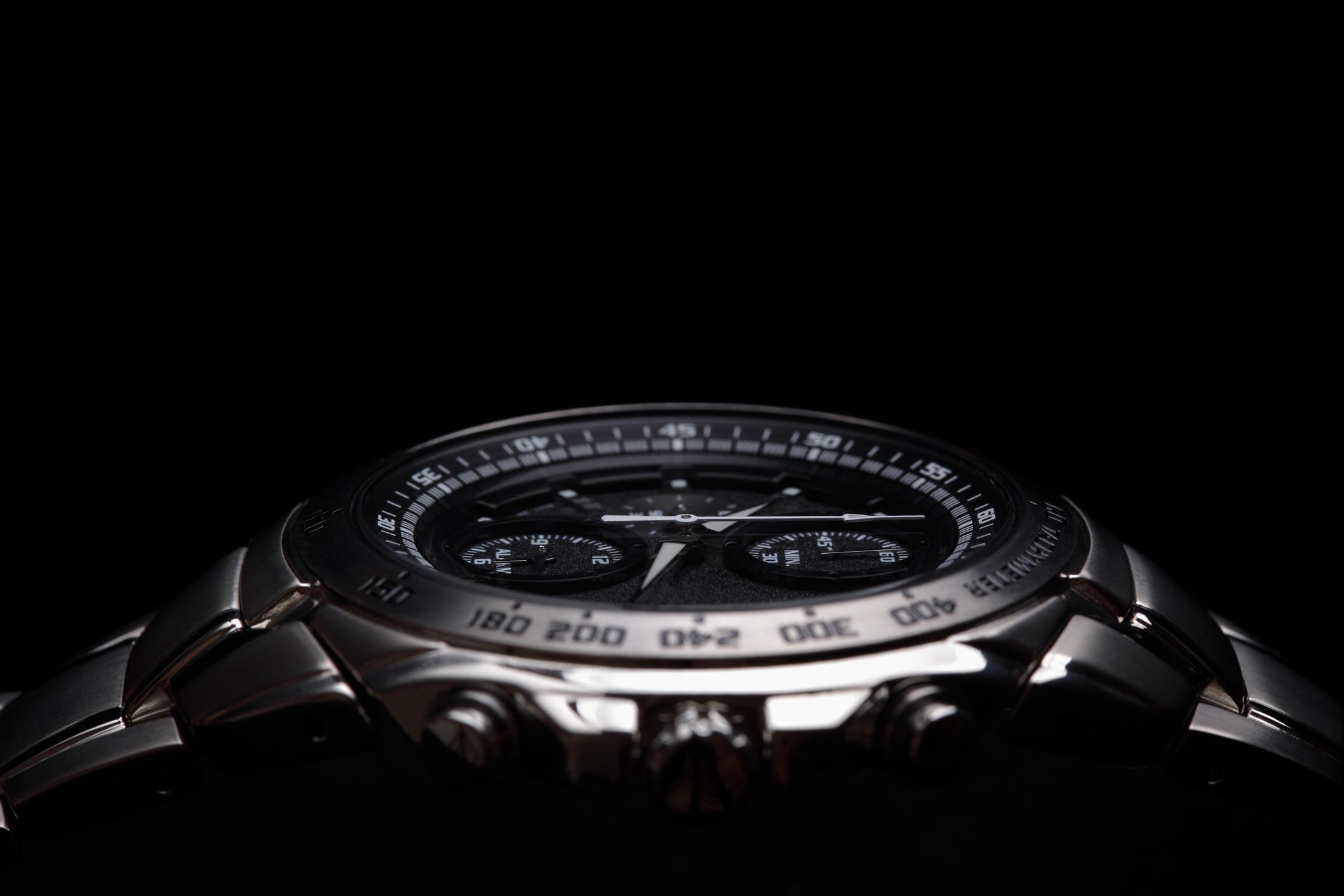 A watch face