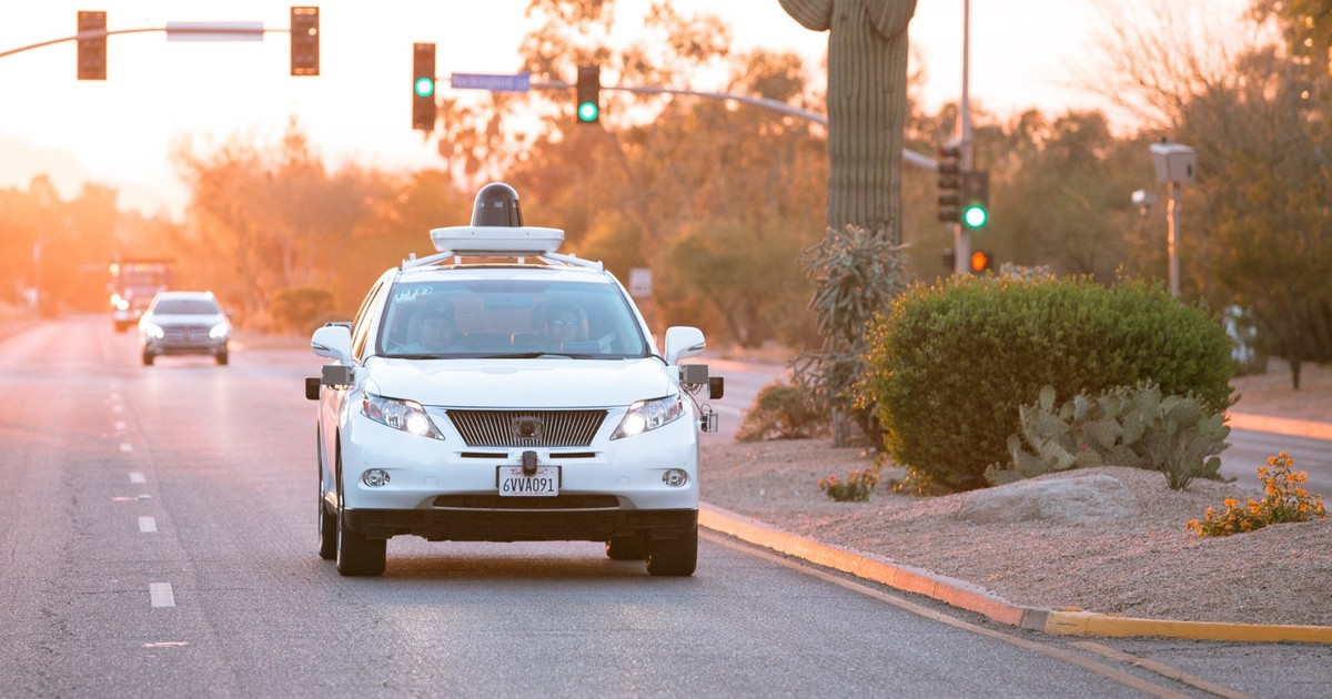 Alphabet's Waymo Leads the Field in Driverless Cars