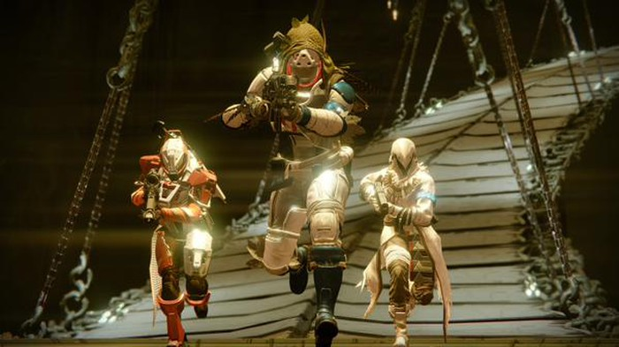 """A scene from Activision's """"Destiny"""" game."""