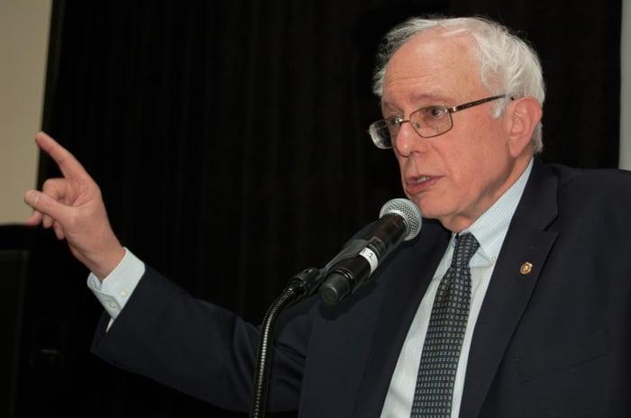 Vermont Senator Bernie Sanders.