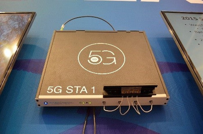 An Interdigital 5G network transmitter.