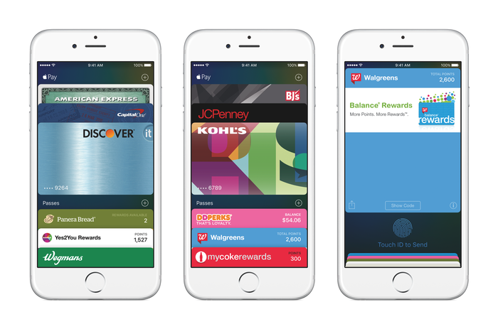 Apple Pay on iPhones