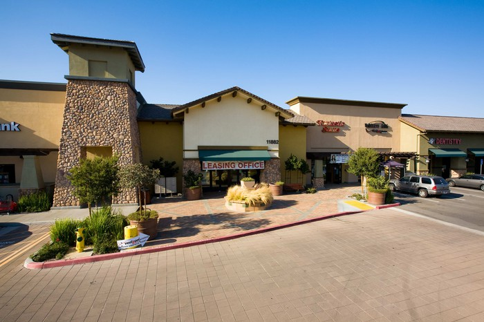 Retail Opportunity Investments' Sycamore Creek Shopping Center in Corona, California.
