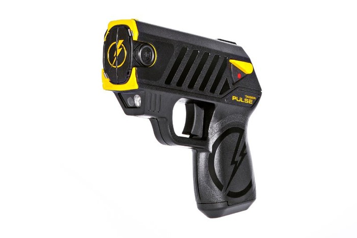 Image of a Taser Pulse weapon.