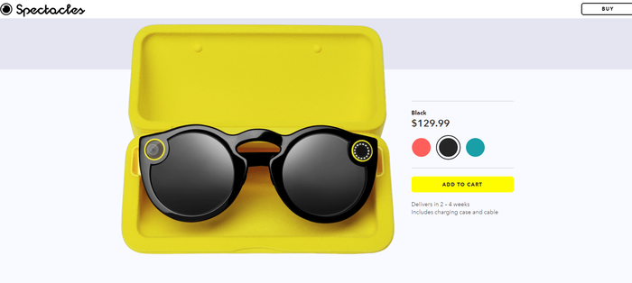Snap spectacles for sale online.