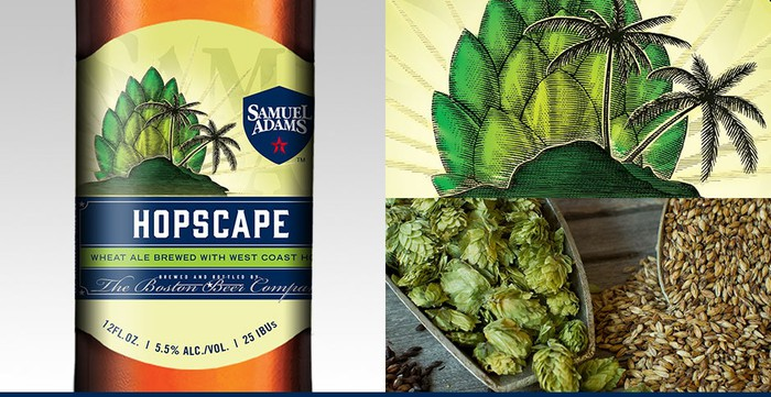Boston Beer's seasonal craft beer Hopscape