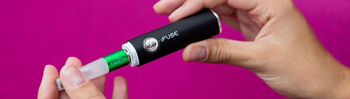 """British American Tobacco's iFuse glo e-cig with Kent brand """"cigarettes"""""""
