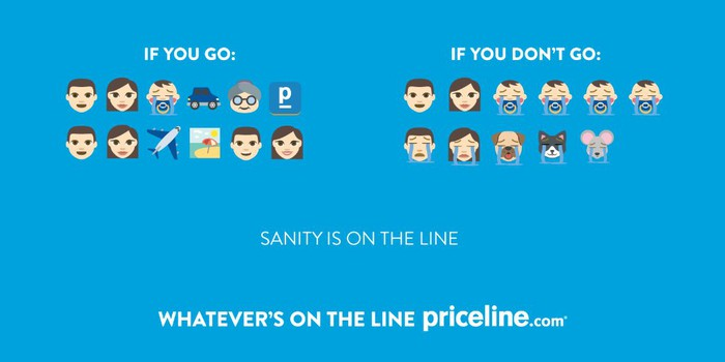 Priceline graphic on sanity.