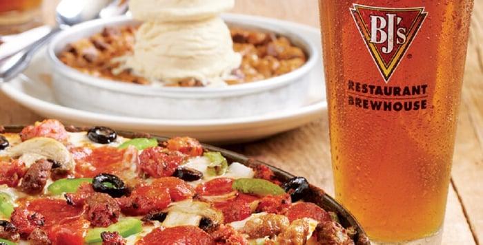 BJ's Restaurants food and drink
