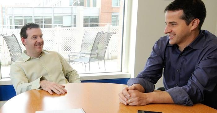 Motley Fool Options advisors Jim Gillies and Jeff Fischer.