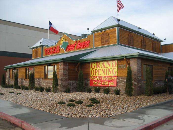 Grand Opening of a new Texas Roadhouse location.