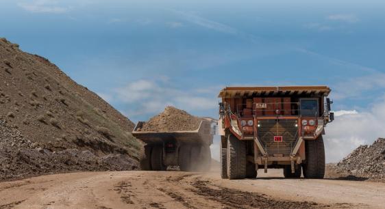 Silver Standard Resources trucks