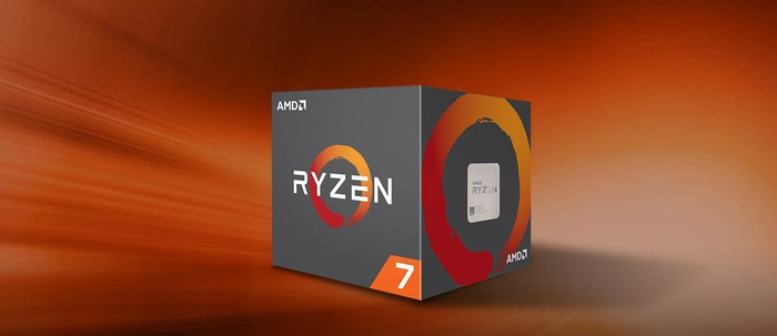 Box with AMD Ryzen chip.