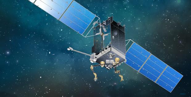 Robot satellite.