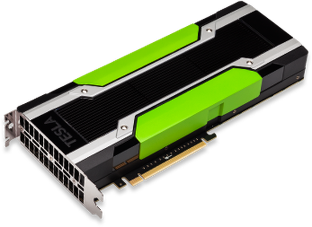 A Tesla K80 GPU accelerator.