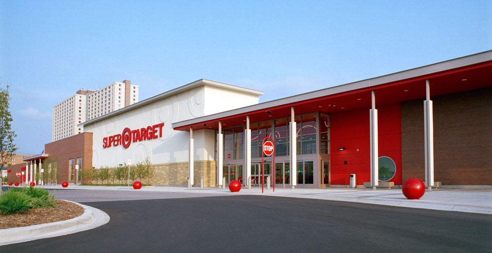 A Super Target location in St. Paul, Minnesota.