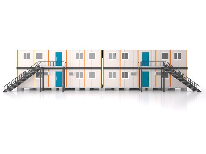 Image of a modular building.