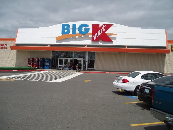 A K-Mart store.