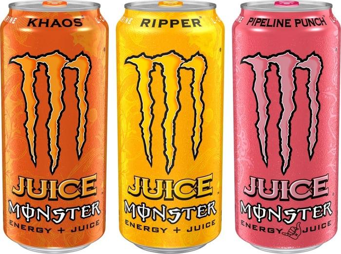 Monster Beverage Juice Monster Cans