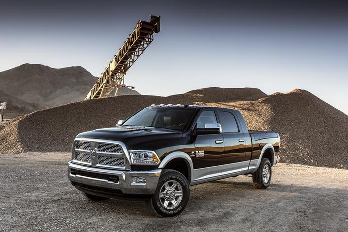 FCA's Ram Truck at a work site