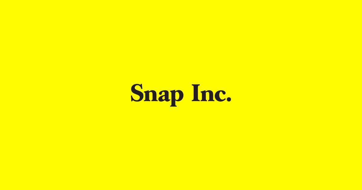 Image of Snap's logo.