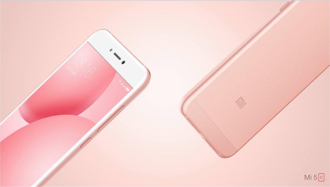 Xiaomi's Mi5c.