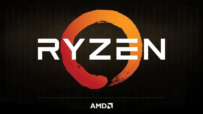 The Ryzen logo.