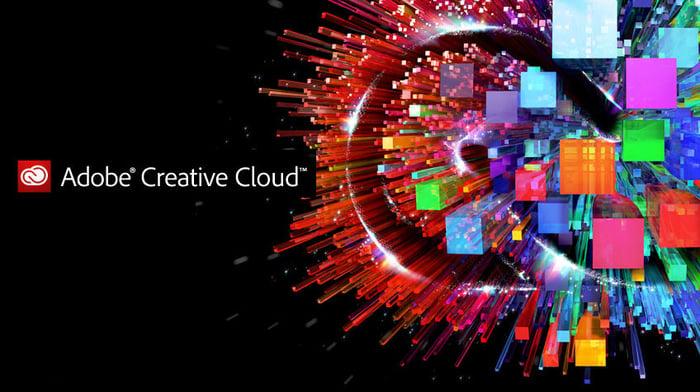 The Adobe Creative Cloud logo.