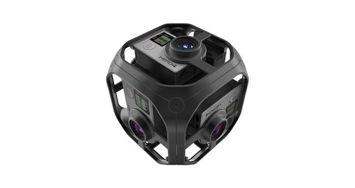 GoPro Omni, a spherical image capture device.