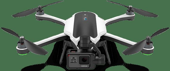 A GoPro Karma drone.