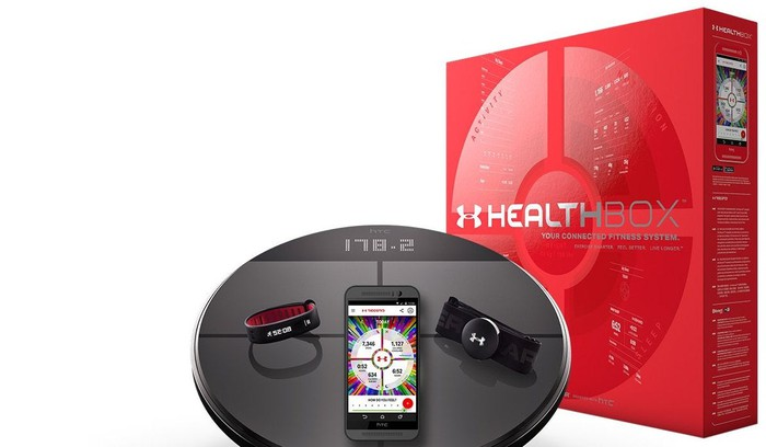 UA's HealthBox Connected Fitness bundle.