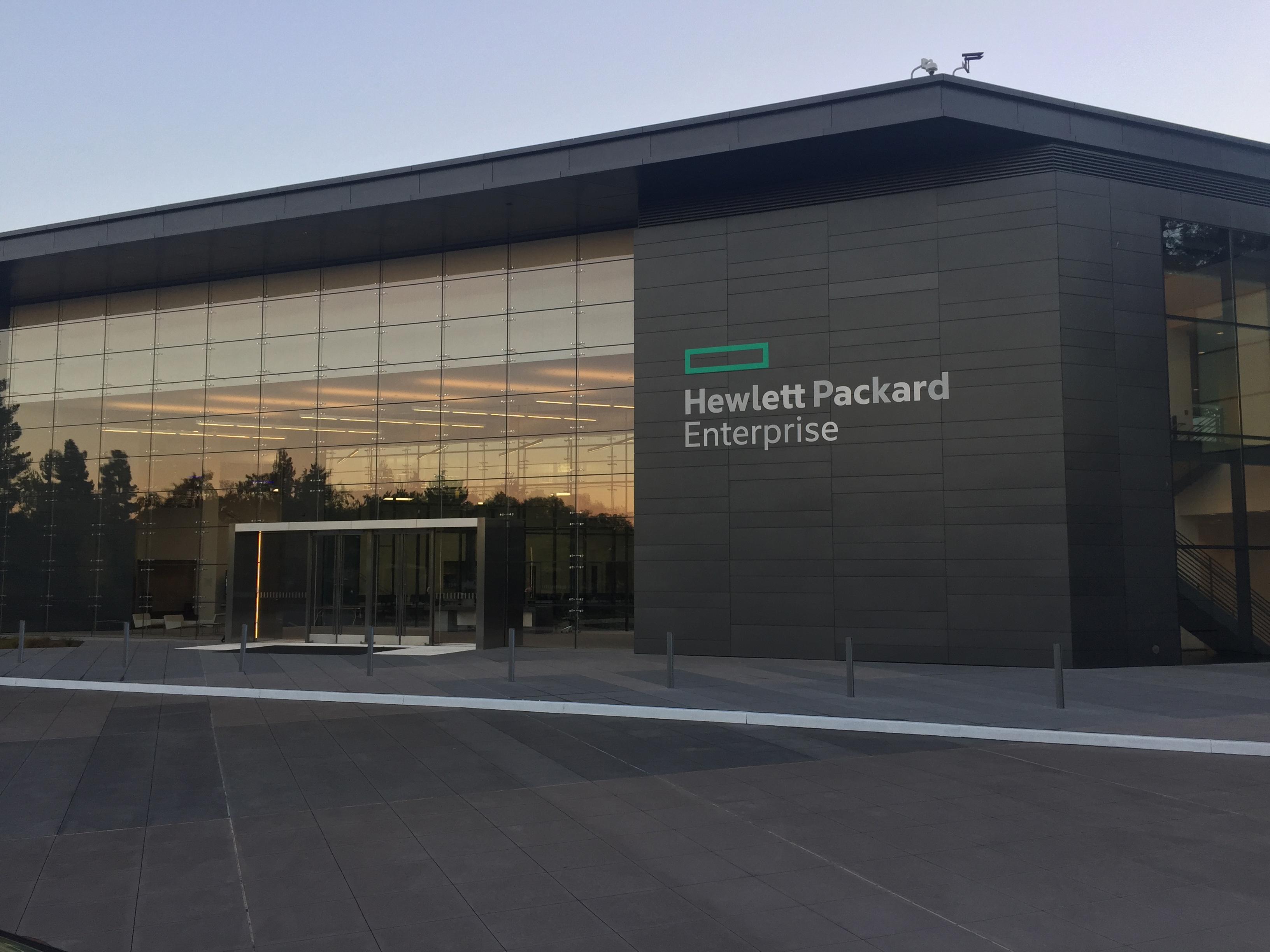 HP Enterprise headquarters