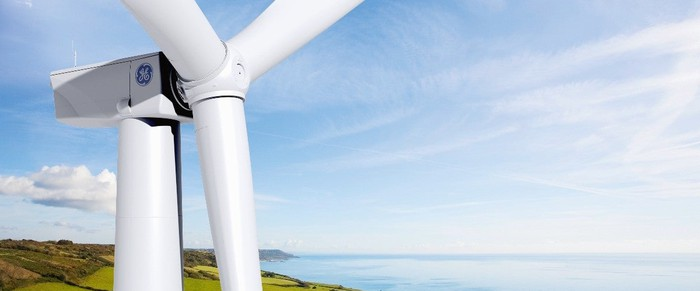 Picture of a wind turbine.