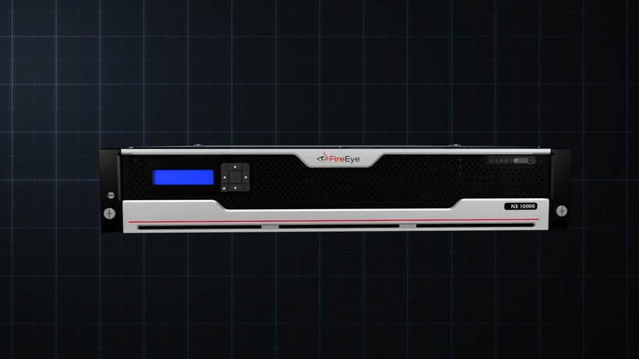 FireEye NX 10000 hardware.