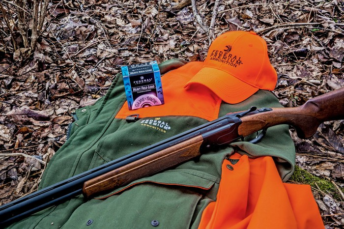 Vista Outdoor's 555 over-and-under shotgun with Federal Premium shells.