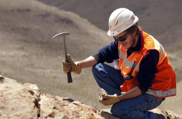 A Silver Standard employee working.