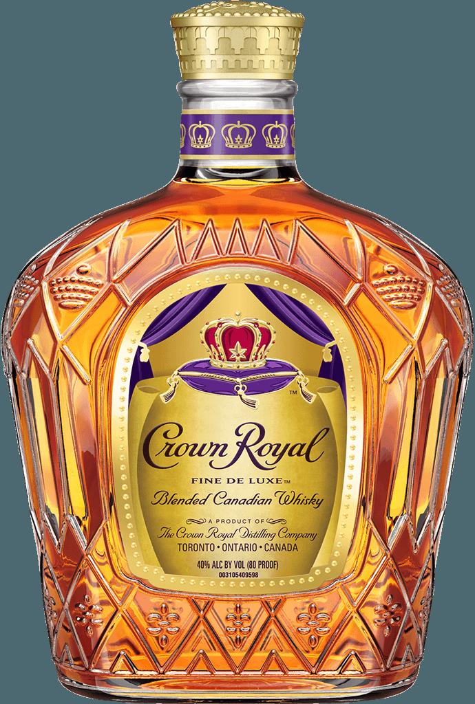 Bottle of Diego's premium Crown Royal whiskey