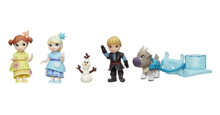 Some of Hasbro's Disney Frozen toys from 2017.