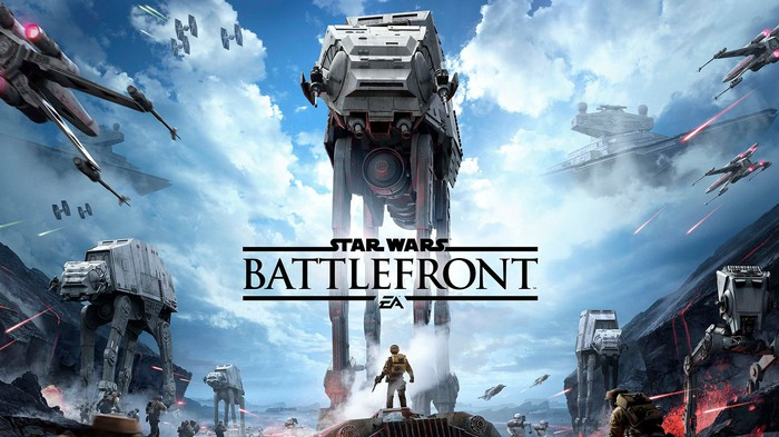 The cover of EA's popular Star Wars video game.