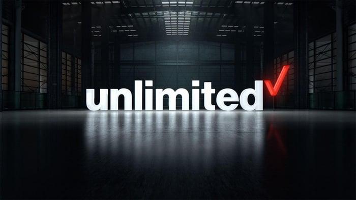Verizon's unlimited logo