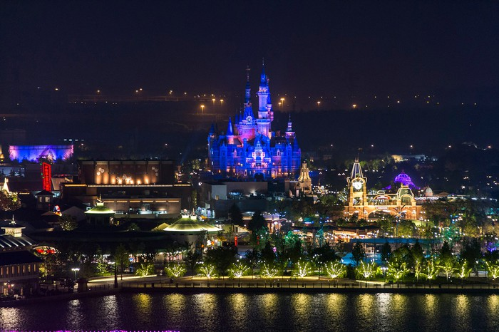 Shanghai Disney Resort grand opening.