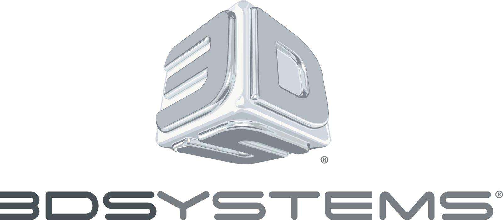 3D Systems' logo.