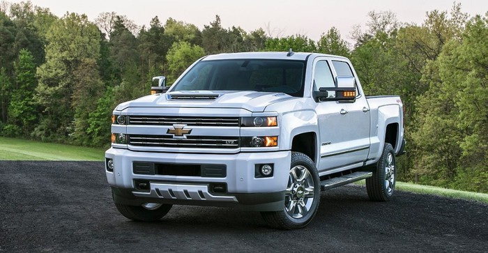 The 2017 Chevy Silverado.