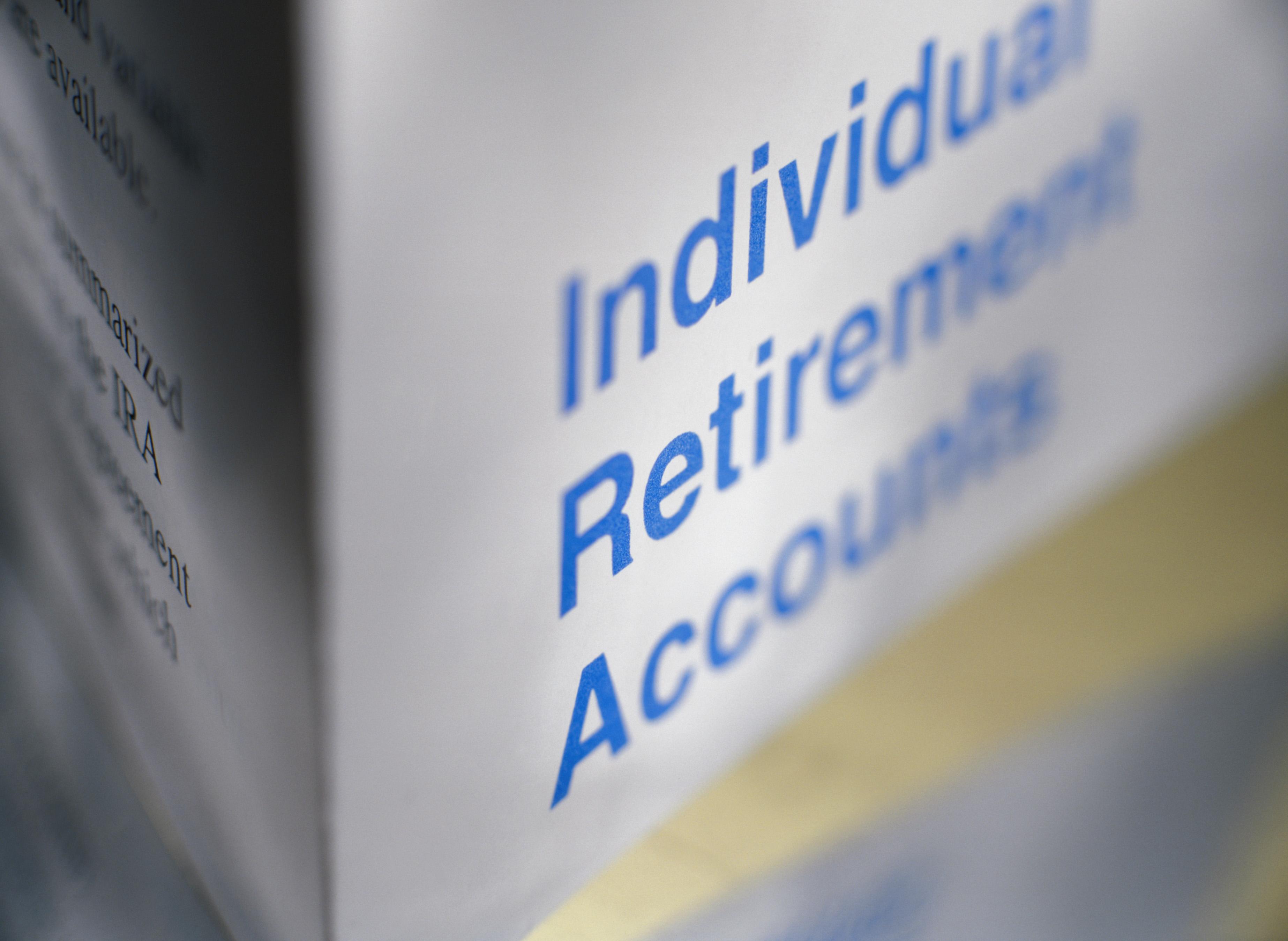 Individual Retirement Account poster.
