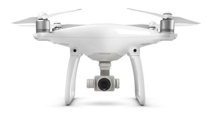 DJI's Phantom 4 drone.