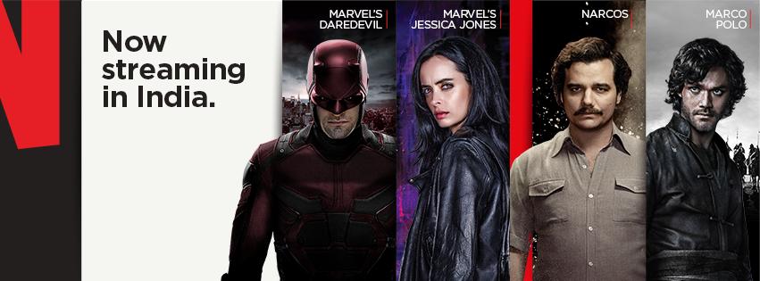 Netflix India promotional image.